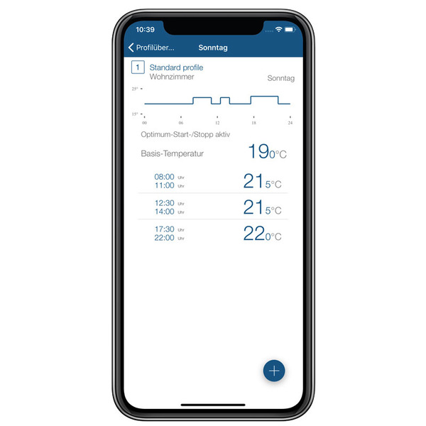 Homematic IP Wandthermostat HmIP-WTH-2 mit Luftfeuchtigkeitssensor WTH-2 für Smart Home