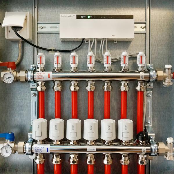 Homematic IP Fußbodenheizungsaktor HmIP-FAL24-C10 – 10fach, 24 V