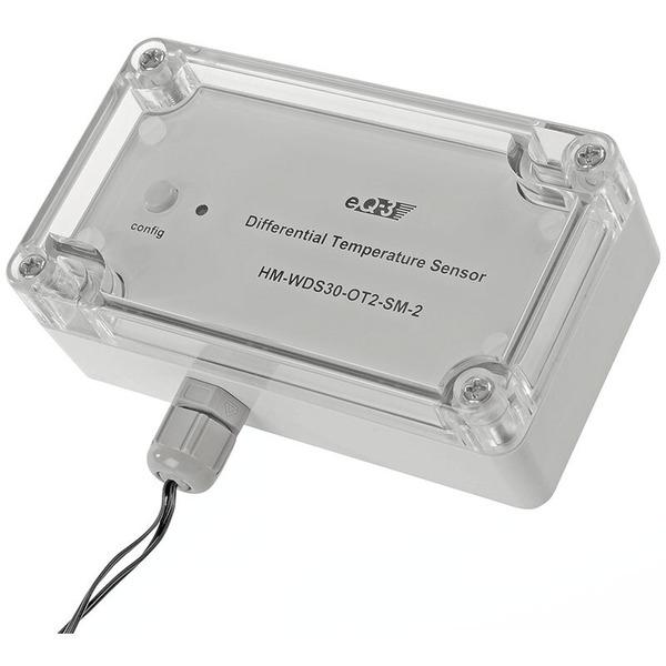 ELV Homematic Differenz-Temperatur-Sensor HM-WDS30-OT2-SM-2, für Smart Home / Hausautomation
