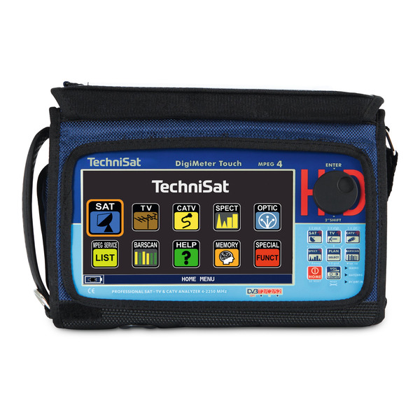 "TechniSat Profi Sat-Messgerät DigiMeter Touch, Touchdisplay 17,8 cm (7""), File-Manager"