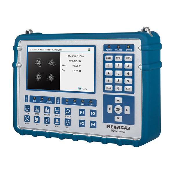 Megasat Sat-Messgerät HD 5 Combo, für DVB-S/S2/S2X, DVB-T/T2, DVB-C/C2, Live-TV-Modus, Farbdisplay 1