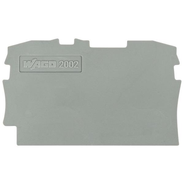 Wago Abschluss-/Zwischenplatte 2002-1291, 0,8 mm