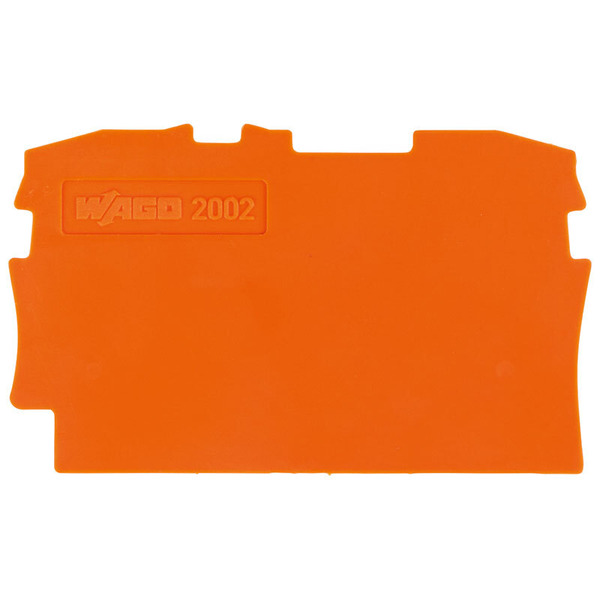 Wago Trennplate 2002-1294, orange, 2 mm dick