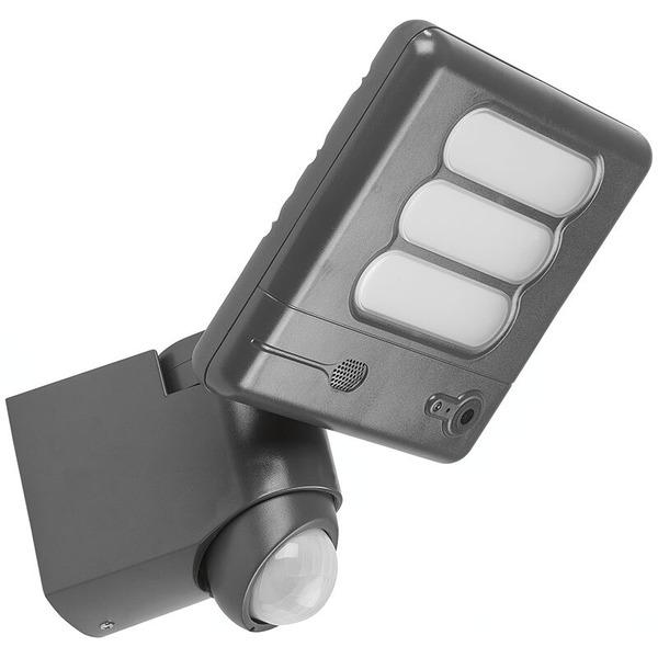 Lutec LED-Kameraleuchte ESA 6255-CAM mit Rekorder, Bewegungsmelder und APP, in Anthrazit