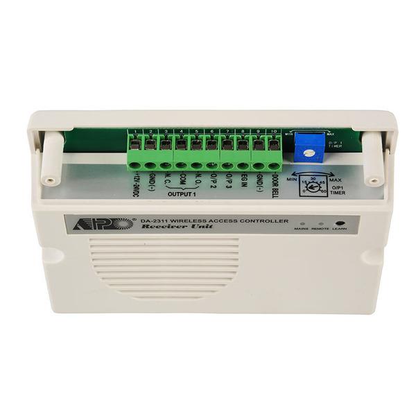ELV Zugangskontrollsystem ZKS100 mit Funk-Codeschloss und Empfangsgerät