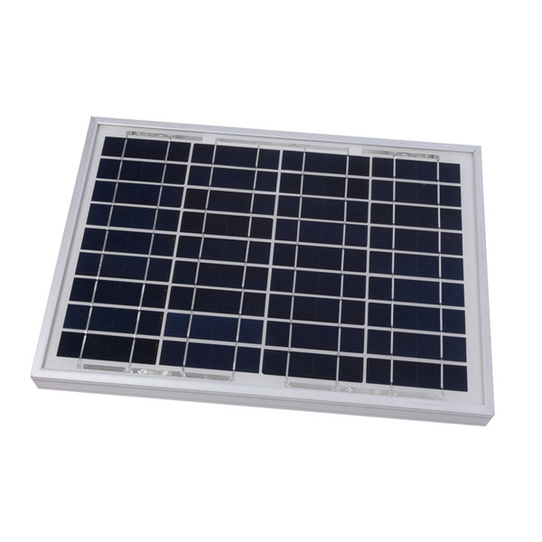 Velleman Polykristallines Solarmodul SOL10P, 12 V, 10 W