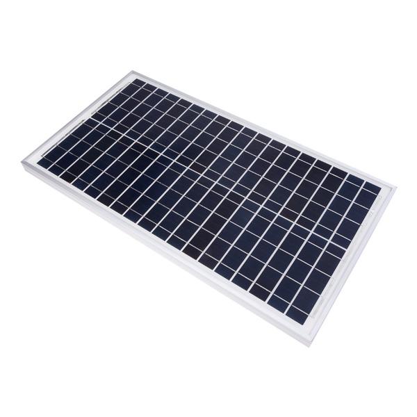 Velleman Polykristallines Solarmodul SOL30P, 12 V, 30 W