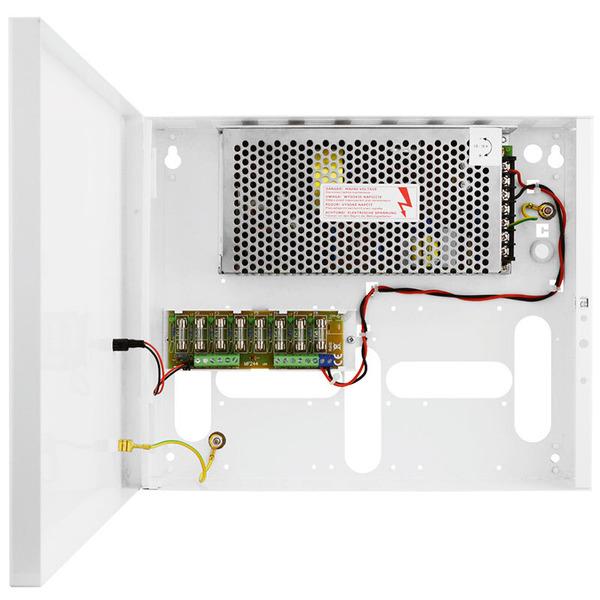B & S Technology Netzteil für 16 Kameras 12 V / 16 A zur Wandmontage für CCTV-Anlagen
