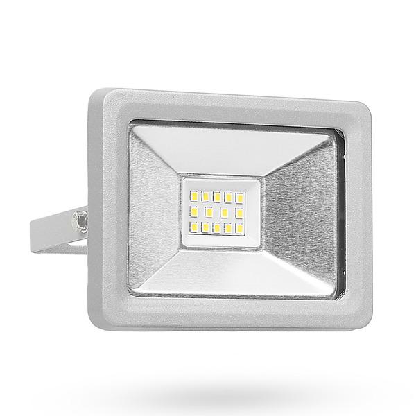 Smartwares 10-W-LED-Flutlichtstrahler mit easy connector, neutralweiß