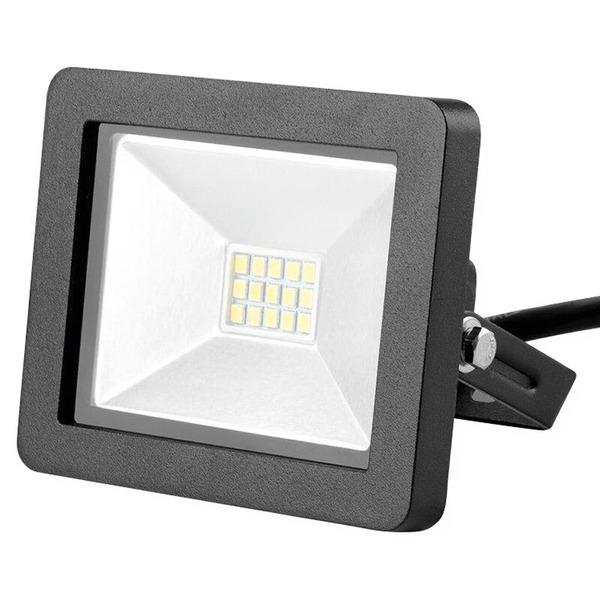 LEDmaxx 10-W-Kompakt-LED-Flutlichtstrahler, warmweiß