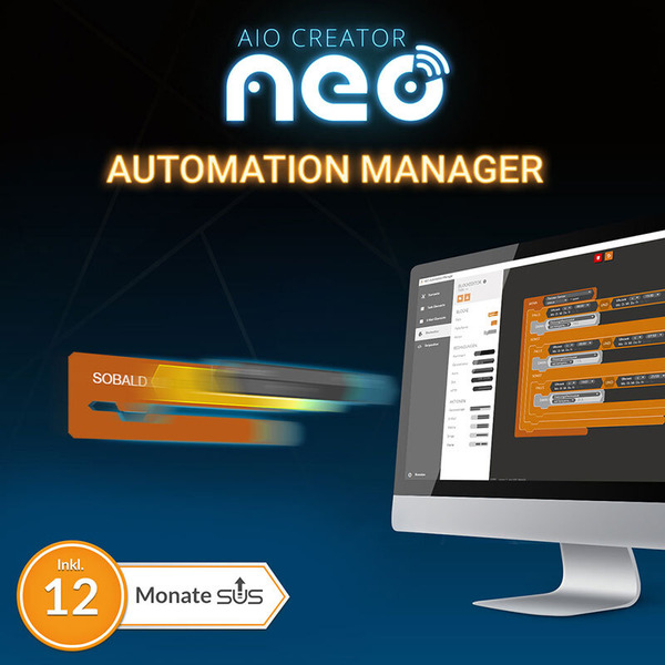 mediola NEO Plugin Automation Manager (inkl. 12 Monate Subscription Update Service)