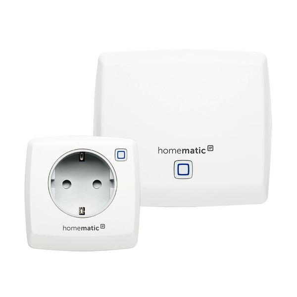 """Homematic IP Starter-Set """"Lichtsteuerung per Sprachbefehl"""" mit Access Point und Schaltsteckdose"""