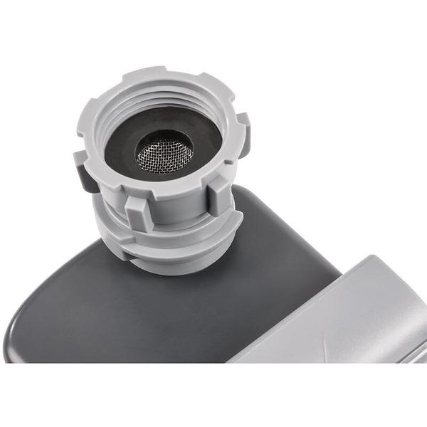 technoline Bewässerungscomputer WZ 1000 mit Display, für Standard-Wasserhähne, Batteriebetrieb