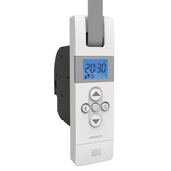 WIR elektronik elektronischer Funk-Gurtwickler eWickler Comfort eW840-F, Unterputzmontage, Rauchwarn