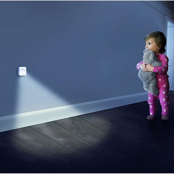 Ledvance Nightlux Batterie-LED-Licht mit Bewegungsmelder, weiß