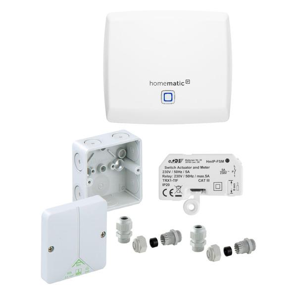 ELV Homematic IP Starter-Set Lichtsteuerung im Außenbereich und Feuchträumen