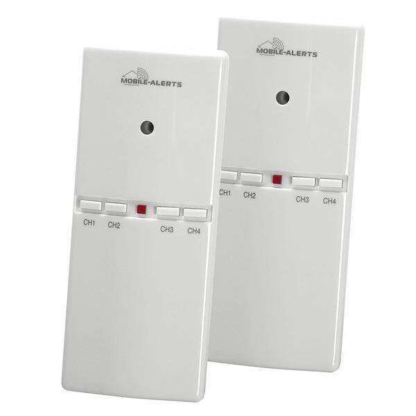 ELV Mobile Alerts Alarmgeber MA10860 für Gefahrenmelder, inkl. Temperatursensor, 2er Set