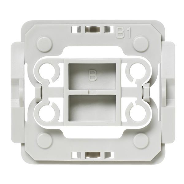 Installationsadapter für Berker-Schalter, B1, 20er-Set für Smart Home / Hausautomation