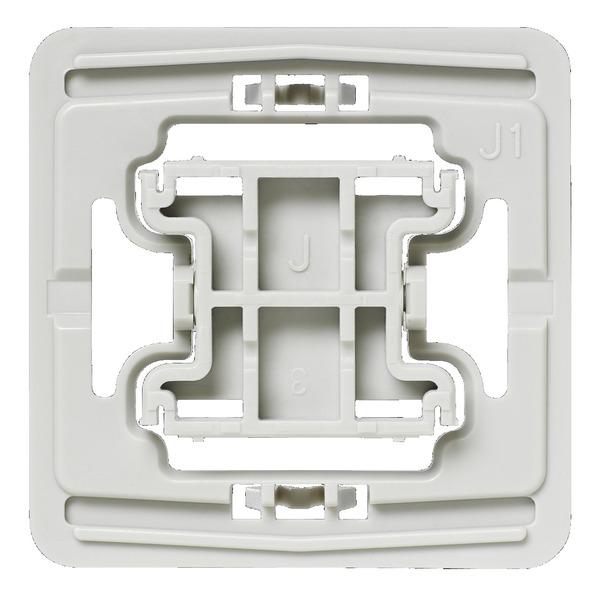Installationsadapter für Jung-Schalter, J1, 20er-Set für Smart Home / Hausautomation