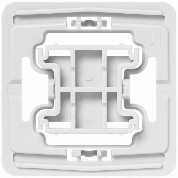Installationsadapter für Jung-Schalter, J1, 1er-Set für Smart Home / Hausautomation