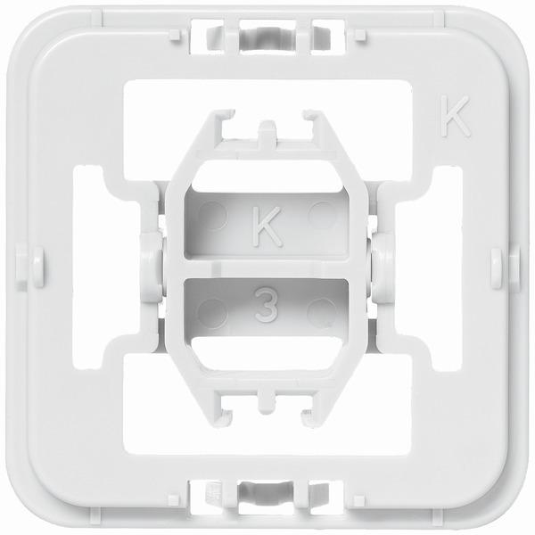 Installationsadapter für Kopp-Schalter, 1er-Set für Smart Home / Hausautomation