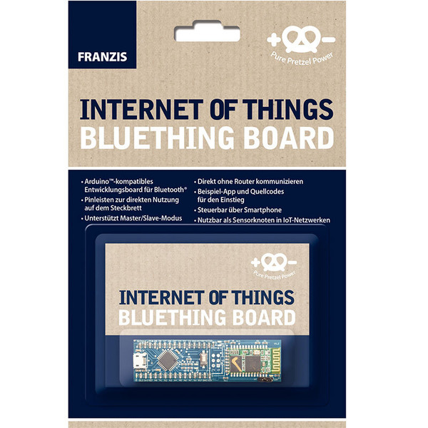 FRANZIS Arduino Internet of Things Bluetooth-Entwicklerboard