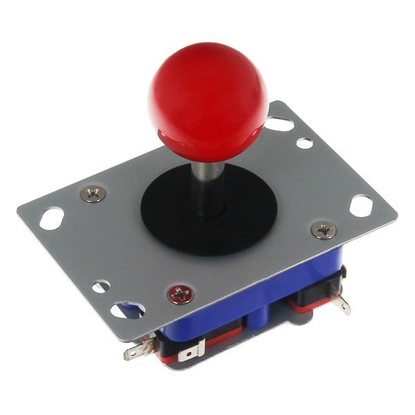 JOY-iT Arcade Joystick mit roter Kugel