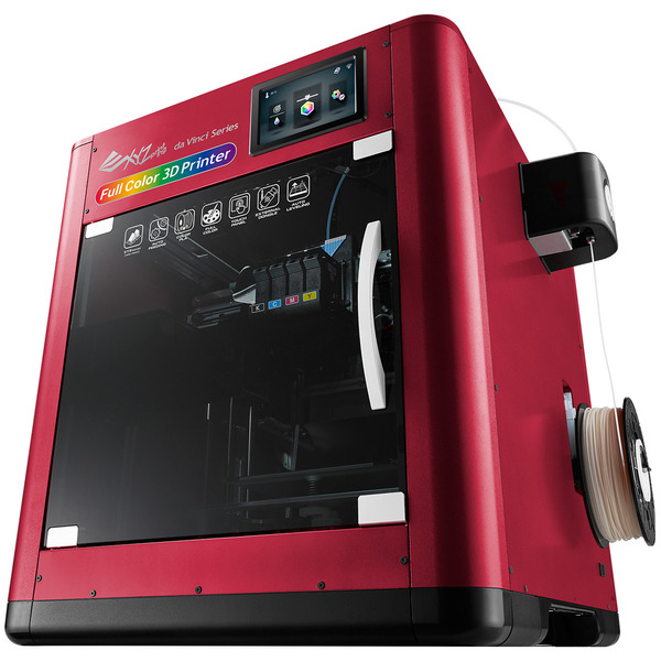 XYZprinting 3D-Drucker da Vinci Color, 3D-Tintenstrahl-Filament-Farbdrucker, WiFi/USB, Touchscreen