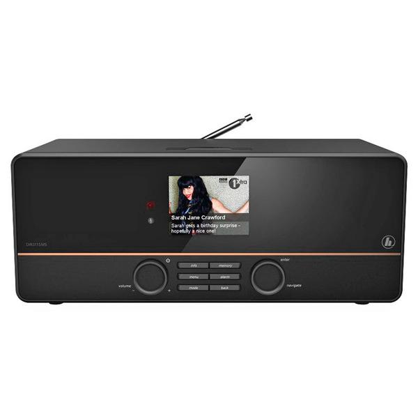 hama Hybridradio DIR3115MS, UKW/DAB+/Internetradio, LAN/WLAN, USB, 10-W-RMS, Multiroom, Spotify