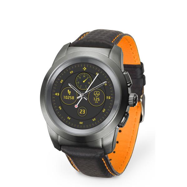 MyKronoz Hybrid-Smartwatch ZeTime Premium, mechanische Zeiger, bis zu 30 Tage Akkulaufzeit