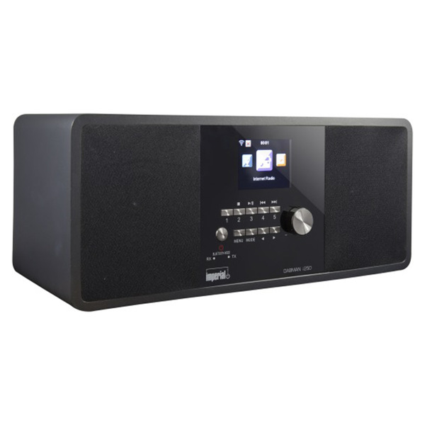 Imperial Hybridradio Dabman i250, UKW/DAB+/Internetradio, Bluetooth-Sender/-Empfänger, 20-W-RMS