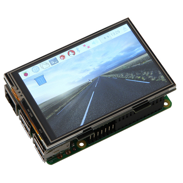 "JOY-iT 8,89 cm (3,5"") Touch-Display für Raspberry Pi"