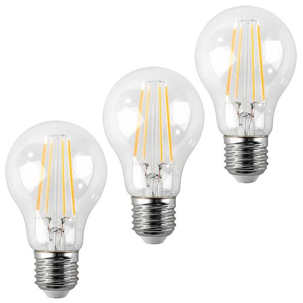 ELV 3er Set FL PREMIUM A40 5-W-LED-Lampe E27, warmweiß
