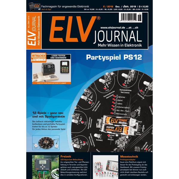 ELVjournal Ausgabe 6/2018 Print