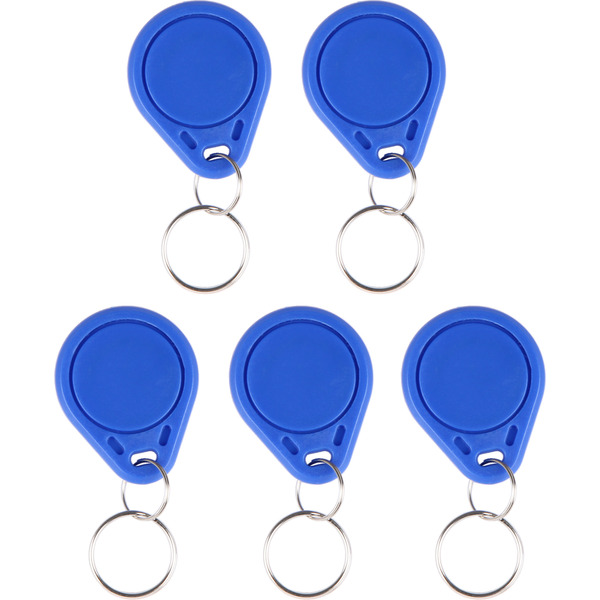 JOY-iT RFID-Schlüsselanhänger-Clip, 5er-Set