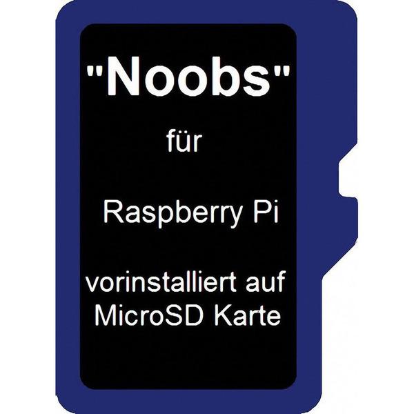 Noobs Betriebssystem für Raspberry Pi (für Pi 3 Model B+ und abwärtskompatibel) auf micro-SD Karte