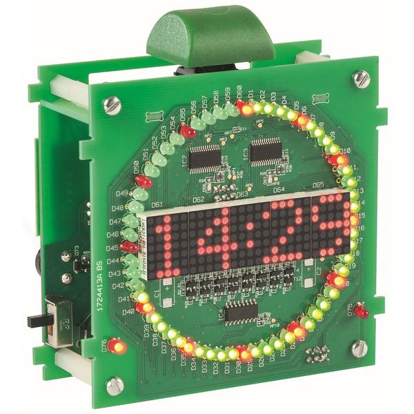 ELV Komplettbausatz Kreis-LED-Wecker KLW1