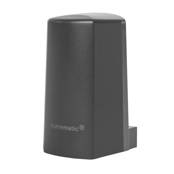 Homematic IP Funk-Temperatur- und Luftfeuchtigkeitssensor HmIP-STHO-A, anthrazit, außen