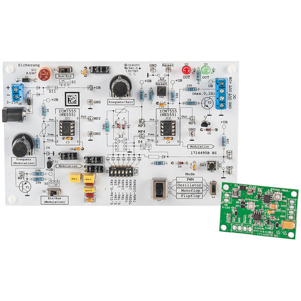 ELV Komplettbausatz NE555-Experimentierboard NE555-EXB