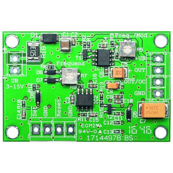 ELV NE555-Anwenderschaltung NE555-AWS, Komplettbausatz