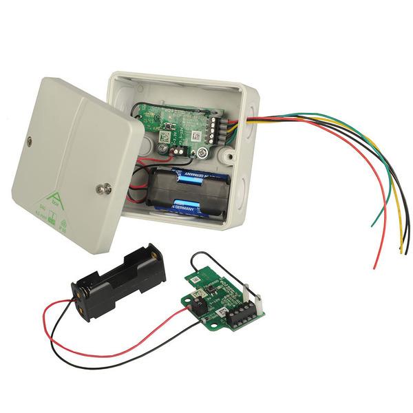 ELV Homematic IP Komplettbausatz Schaltplatine für Batteriebetrieb HmIP-PCBS-BAT, für Smart Home / H