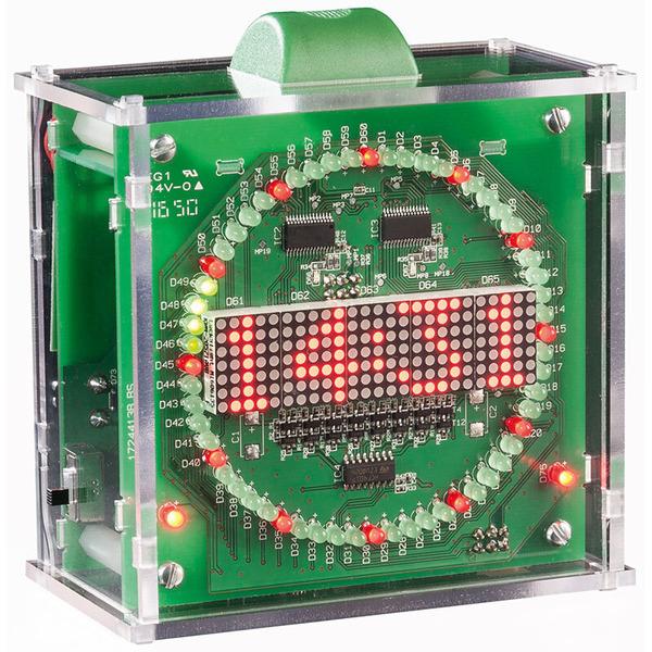 ELV Gehäuse Kreis-LED-Wecker KLW1, Bausatz