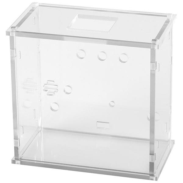 ELV Bausatz Gehäuse Kreis-LED-Wecker KLW1