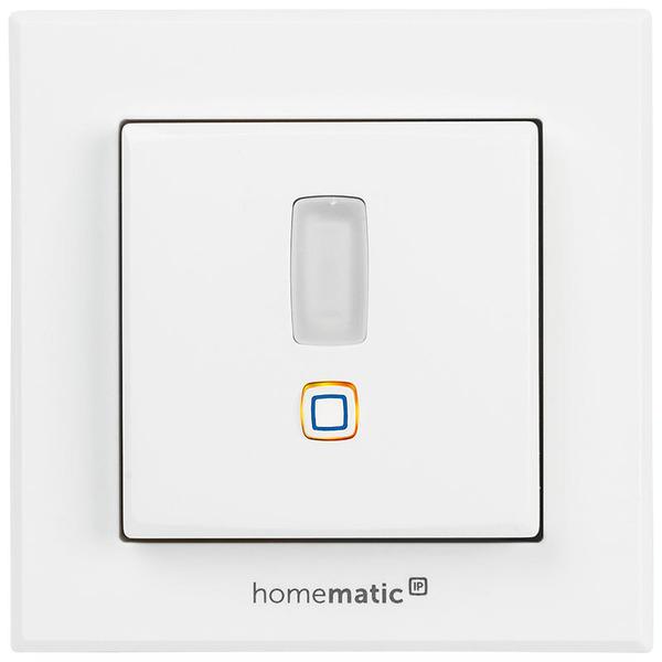 ELV Homematic IP Komplettbausatz Bewegungsmelder für 55er Rahmen HmIP-SMI55 mit 2-Kanal-Funksende