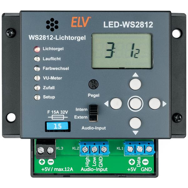 ELV Lichtorgel LED-WS2812, Bausatz