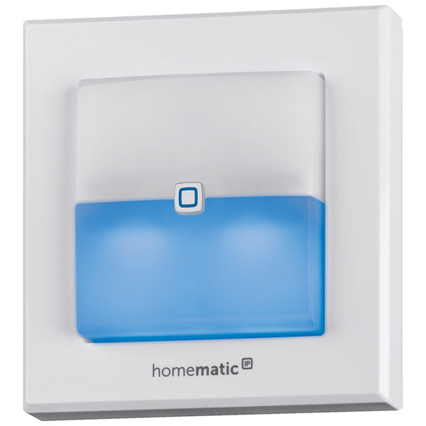 ELV Homematic IP Komplettbausatz Schaltaktor für Markenschalter mit Signalleuchte HmIP-BSL