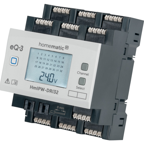 Homematic IP Wired 32-fach-Eingangsmodul HmIPW-DRI32, VDE zertifiziert