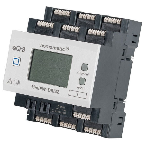 Homematic IP Wired 32-fach-Eingangsmodul HmIPW-DRI32, VDE zertifiziert
