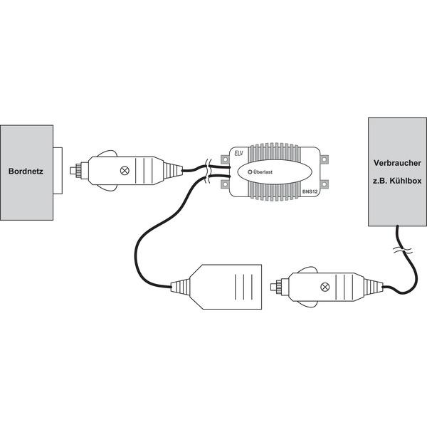 ELV Bordnetzschutz BNS12