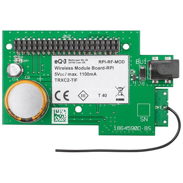 ELV Komplettbausatz Smart Home Funk-Modulplatine für Raspberry Pi 3 B, RPI-RF-MOD